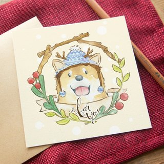OURS Getting Card - Shiba Inu - by Koopa