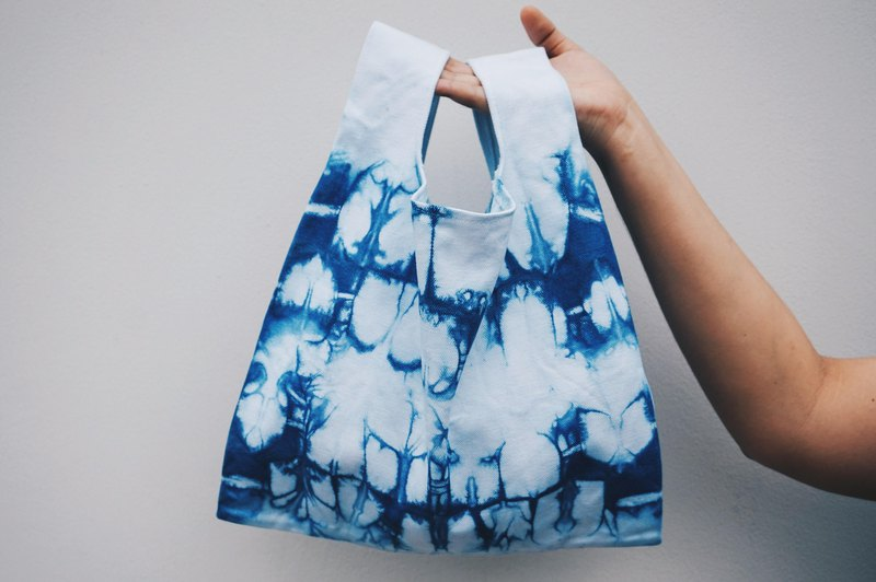 Shopping Bag Indigo dyeing #2