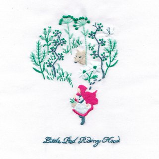 Little Red Riding Hood and the Wolf Forest - Embroidery Kit