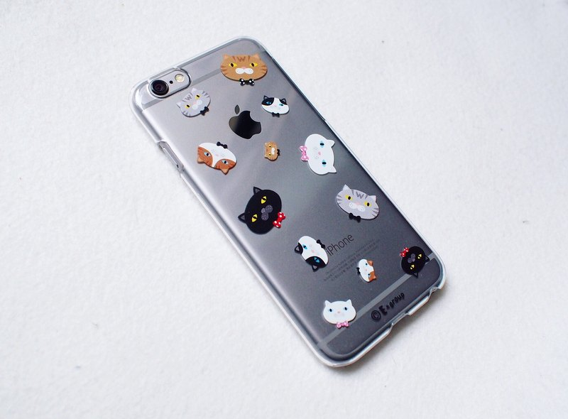 E * group Phone Case (A meow head) iPhone 6 / 6s. Iphone 6plus / 6s plus