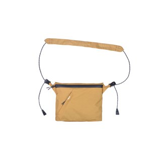 oqLiq - Project 06.2 - River sacoche bag 川字補給包 小(卡其)