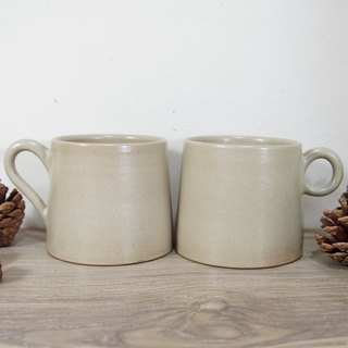 White coffee cup, teacup, mug, cup, mountain cup - about 300ml