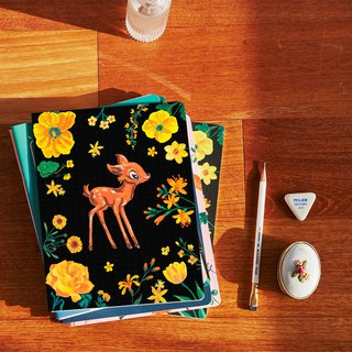 7321 Design Magic Series Natalie Notebook L - Deer Night Garden, 73D73372
