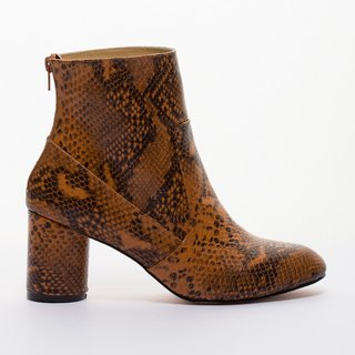 [] Saint Landry sexy snake boots - brown wilderness