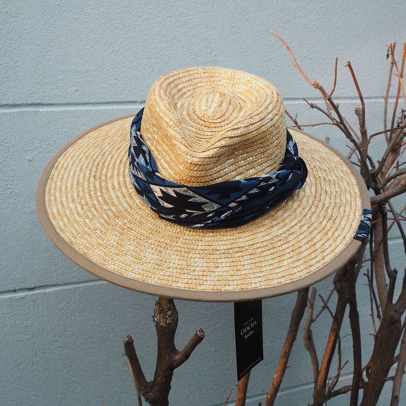 Rango fedora hat (bohemian blue band)