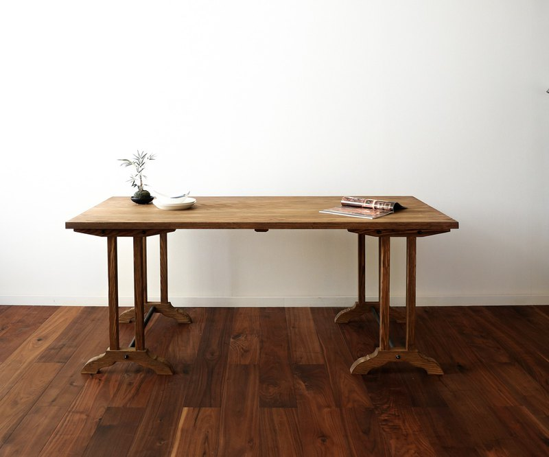 旭川家具 ARTEM JAPAN Noble Trestle Table 桌