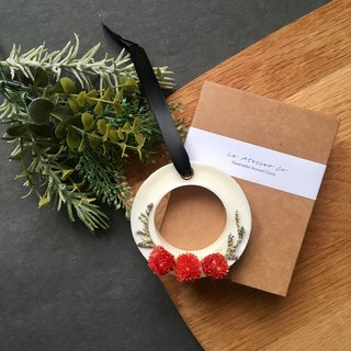 Scented Soy Wax Sachet Brick with Dried Flowers | Air Freshener | Handmade Gift