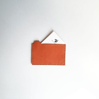 Card Case orange to sort by folder