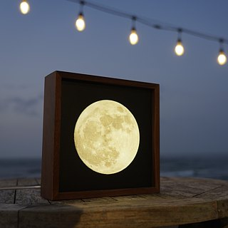 Lighto light print moon light box