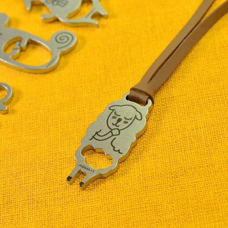 12生肖鑰匙圈吊飾 羊【Desk+1】