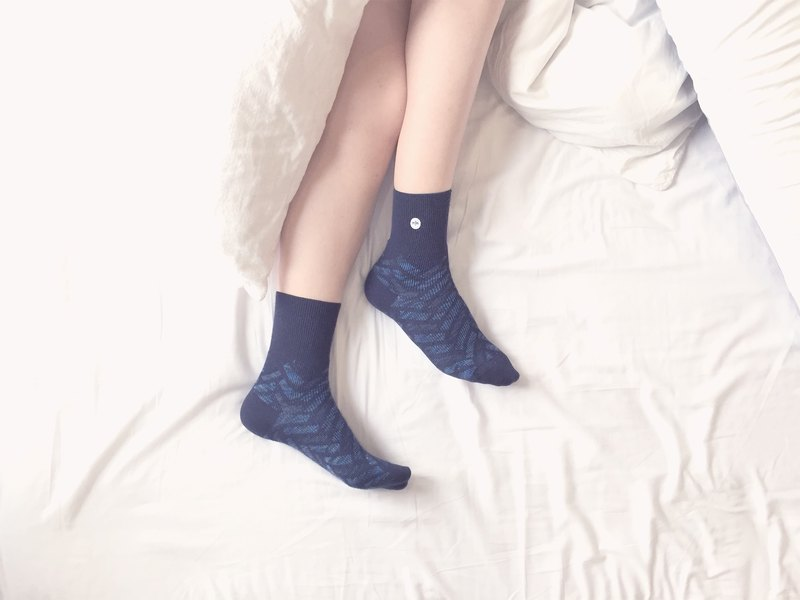 SEVEN SUNDAY Sunday seven geometric blue socks socks socks boys socks girls socks designer socks produced in Malaysia