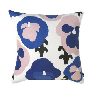 KAUNISTE Cotton Pillow Holder - Purple Pansy