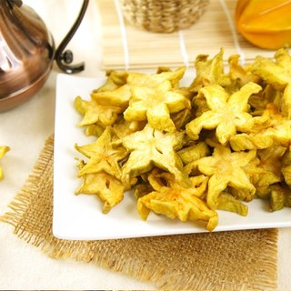 [Afternoon snacks light] fresh fruit carambola crisp pieces (100g / bag)