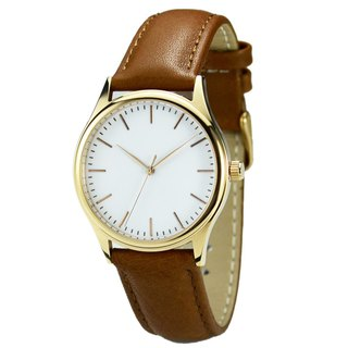 Minimalist Watch with thin stripes Rose Gold  Free Shipping Worldwide