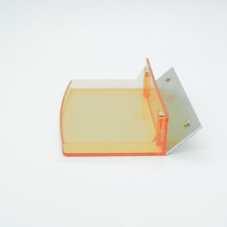 Magnetic suction dressing _ half-high storage box - orange