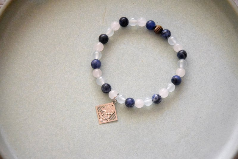 Peaceful Lakeside View Handmade Bracelet