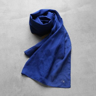 Karufwa cotton stole · navy