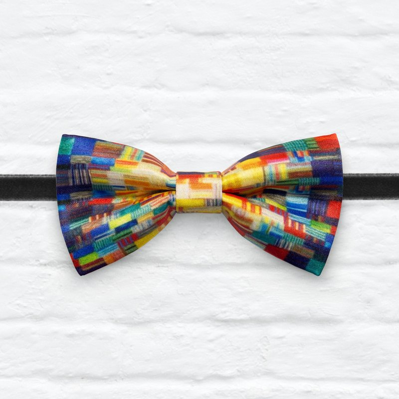 Style 0273 Modern Boys Bowtie, Toddler Bowtie Toddler Bow tie, Groomsmen bow tie, Pre Tied and Adjustable Novioshk