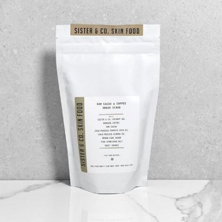 Sister & Co. Naked Cocoa Pure Coconut Coffee Exfoliating Powder