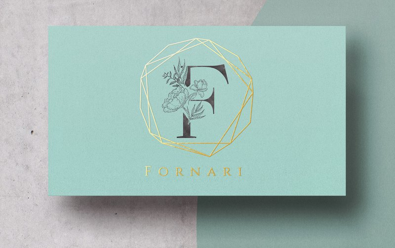 Business Card and gold foil, Business Card Design 010