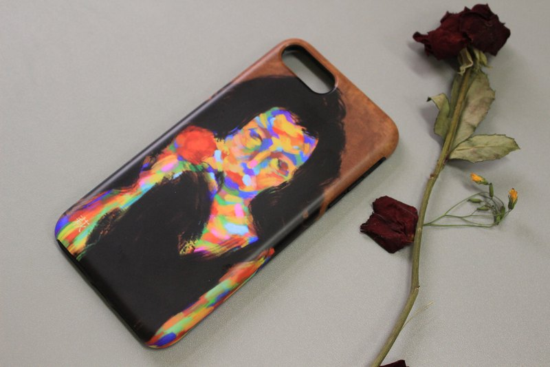 Abstract Confidence / Frosted Matte Double Shell / iPhone Only