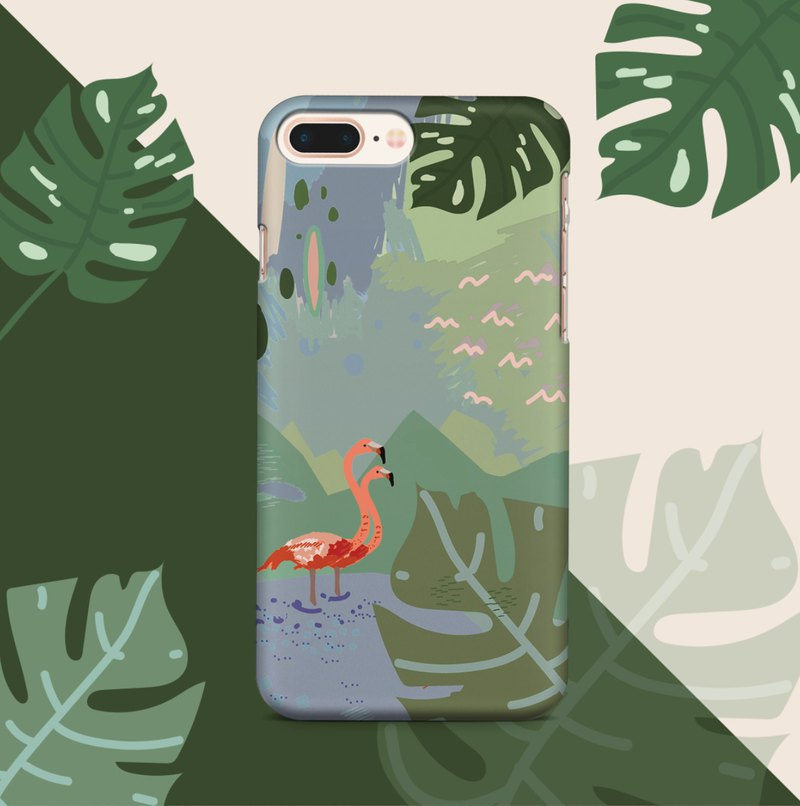 Flamingo Phone case