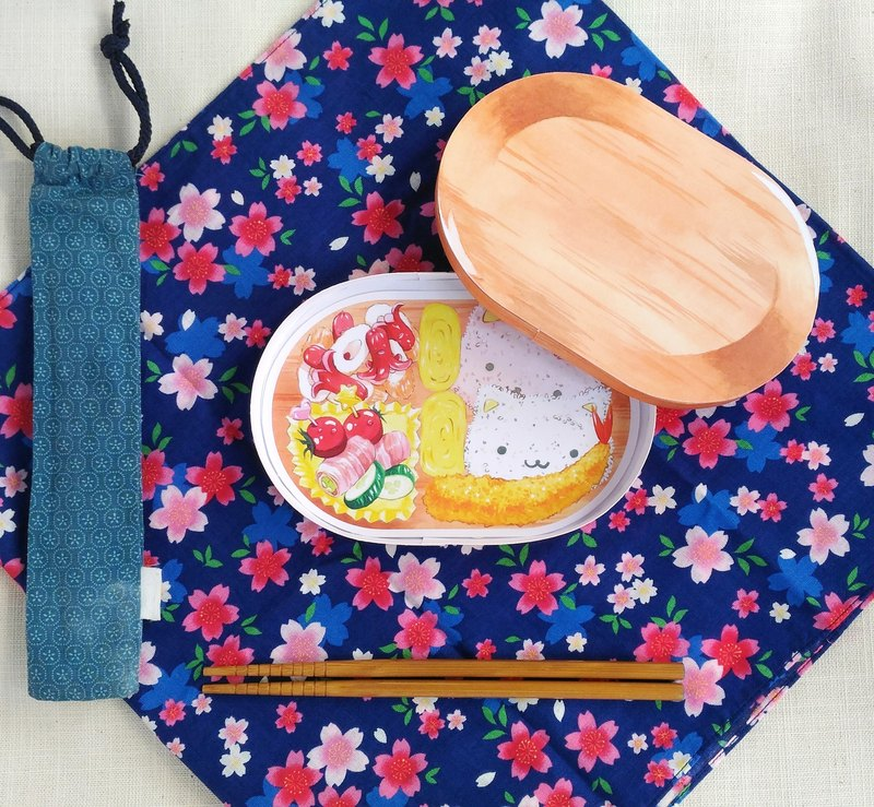Japanese bento sticker set