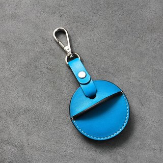 KAKU handmade leather gogoro key case active shackle style sky blue