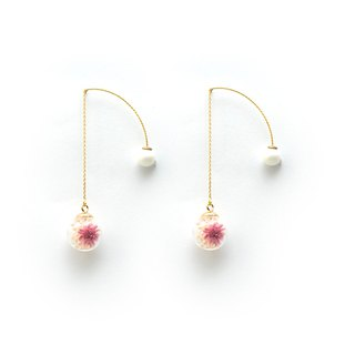 【Flower Garden】 - Cloris Gift Flower Earrings