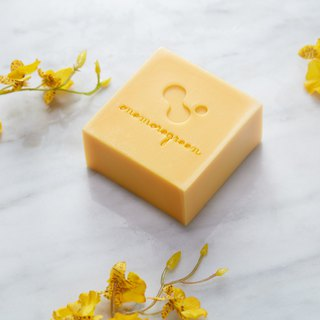 A touch of green handmade soap │ sunshine 煦煦 apricot skin refreshing soap │ neutral skin │ cleansing bath
