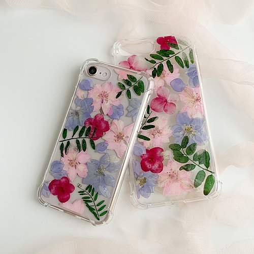 Happy Mother's Day:: pressed flower iphone case