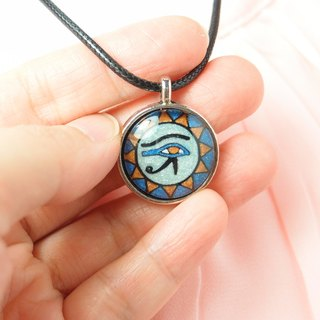 Fox Garden Hand Horror Eye / Eye of Truth / Eye of Egypt Necklace