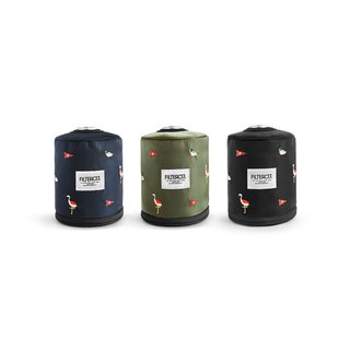 Filter017 Gas Canister Cover Wildlife Embroidery Gas Canister / Paper Cover