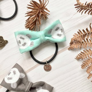 adc|party animals|ribbon|headband|handband|panda|mint green