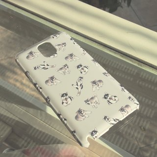 Siberian Husky iPhone & Samsung Case