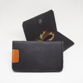 Denim Jeans Tag - Card Case, Card Holder