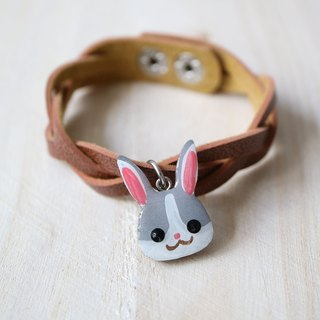 Mini rabbit wooden block
