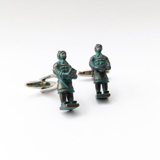 Terra-Cotta Warriors Cufflink