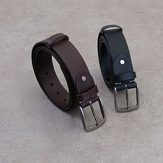 Be Two ∣ 38mm Italian embossed vegetable tanned leather handmade belt / widened belt (multicolor)