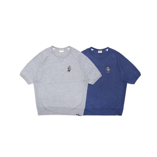 Filter017 Scout Badger Short Sleeve Sweatshirt 童軍獾五分袖大學T