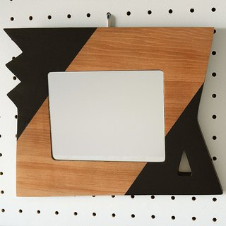 Wall Mirror  (zigzag and trigone)
