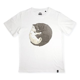 AMO®Original  canned  cotton T-shirt/AKE/Huggy Cats