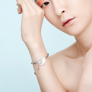 Illusions Unicorn Unicorn Bracelet / Rose Gold & Silver