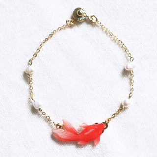Red goldfish bracelet