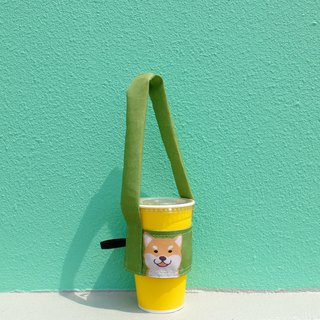 Shiba Inu cute, drink bag (thick/fine straw can be included)
