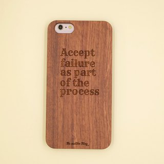 Rosewood customized mobile phone shell