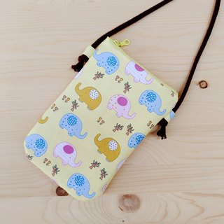 Cute baby elephant phone bag