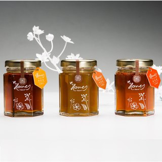 <Christmas gift special offer> Bee honey honey cotton / Zhu Xi / mango honey 70g * 3 into [no elevator]