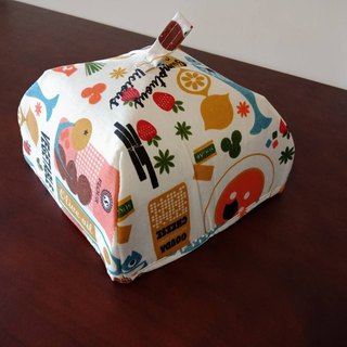 [Bon Bon Naturel] Insulation dustproof dish cover - fruits and vegetables / small