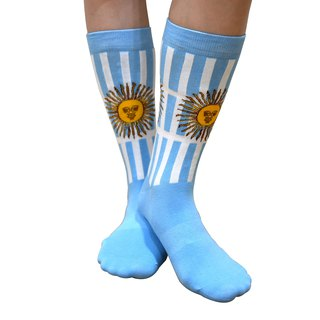 2018 FIFA world cup - Flag Collection Men/Women Argentina Knitted Crew Socks